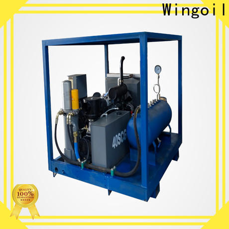 Wingoil test equipment hire With Flow Meter for onshore