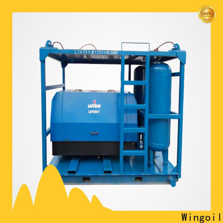 Custom hydrostatic equipment factory for onshore