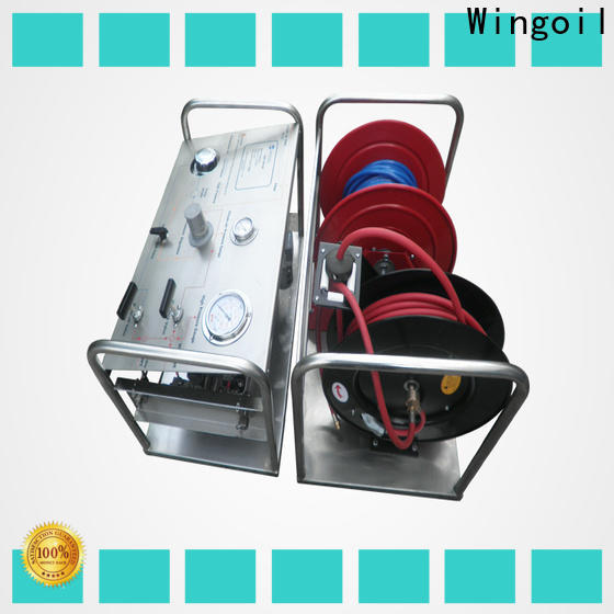 Wingoil Latest hydrostatic pressure testing machine factory For Gas Industry