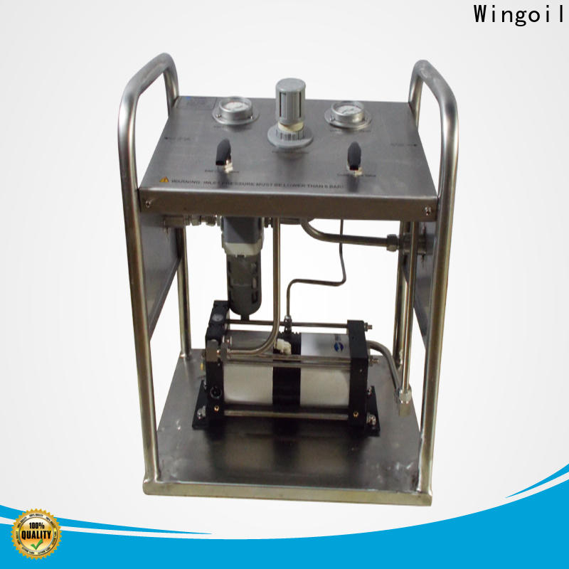 Wingoil Latest rice test pump for business For Oil Industry