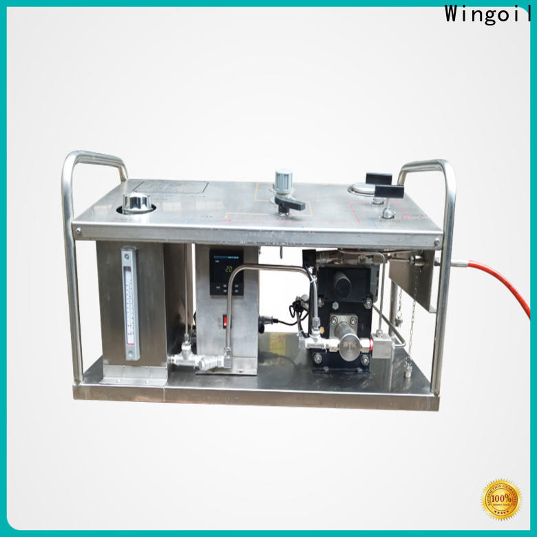 Wingoil manual hydrotest pump manufacturers For Oil Industry