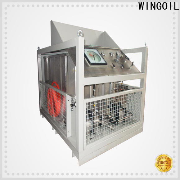 Wingoil Top hydraulic pressure testing equipment Suppliers For Gas Industry