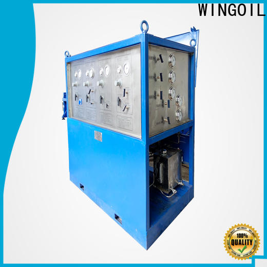 New leak test pressure company for offshore