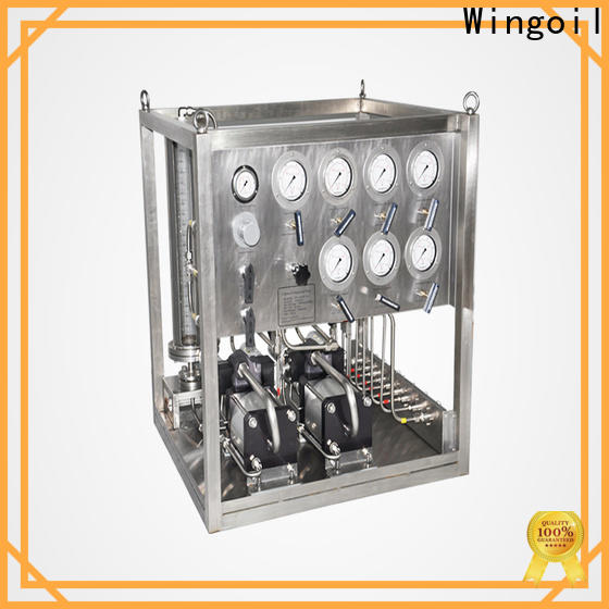 Wingoil High-quality chemical injection system design for business For Oil Industry