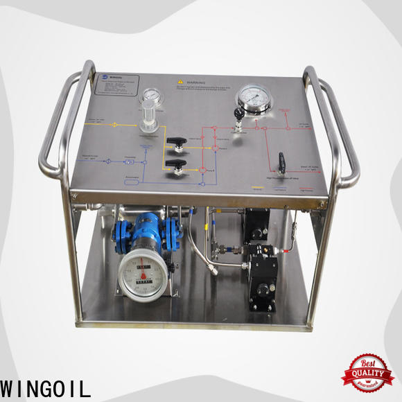 Wingoil Top hydro testing machine manufacturers factory For Gas Industry