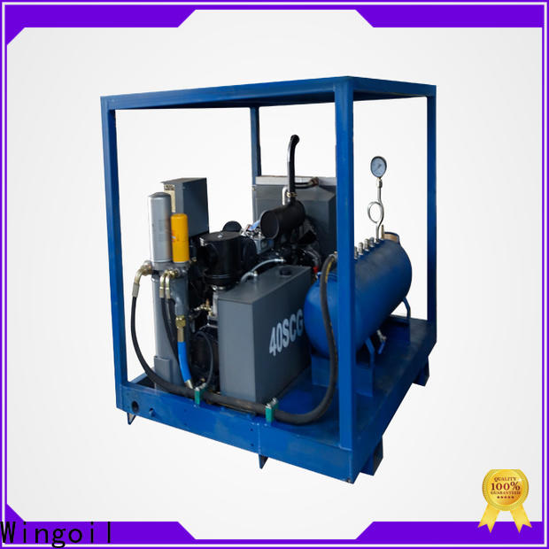 Wingoil pipe pressure testing machine widely used for offshore