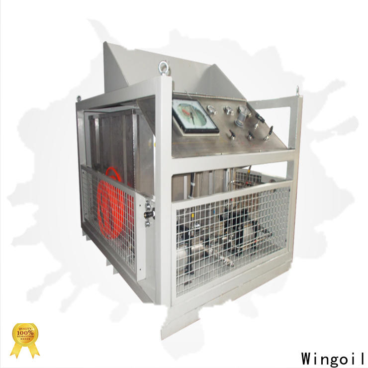 Wingoil Safety hydrostatic burst test With Flow Meter For Oil Industry