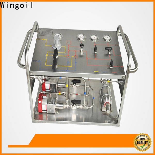 Wingoil used hydrostatic testing equipment Supply for offshore