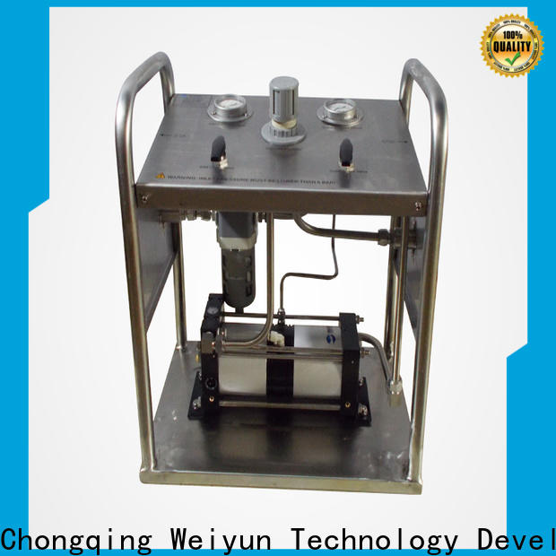 Wingoil Safety hydrostatic testing equipment company for onshore