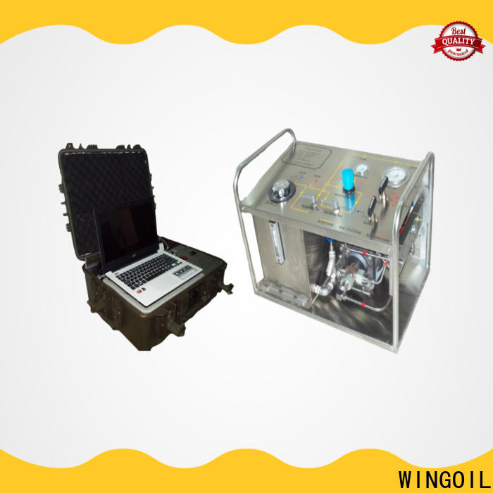 High-quality hydrostatic testing equipment for sale company For Oil Industry