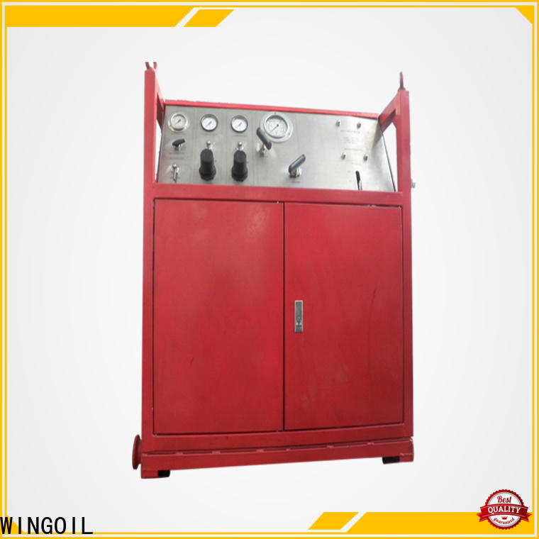 New hydrostatic pressure test manifold widely used For Oil Industry