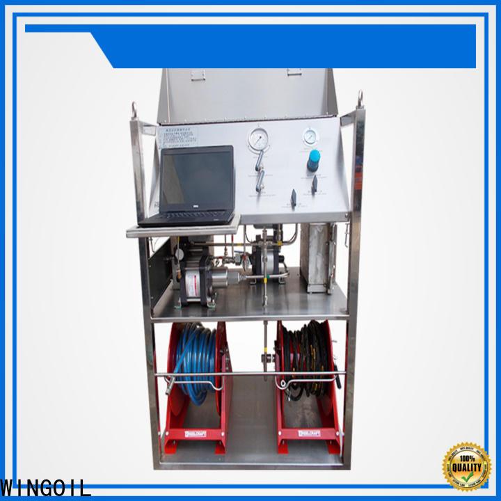 Wingoil air pressure testing equipment infinitely For Oil Industry