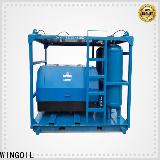 Wingoil water pressure testing machine price widely used for offshore