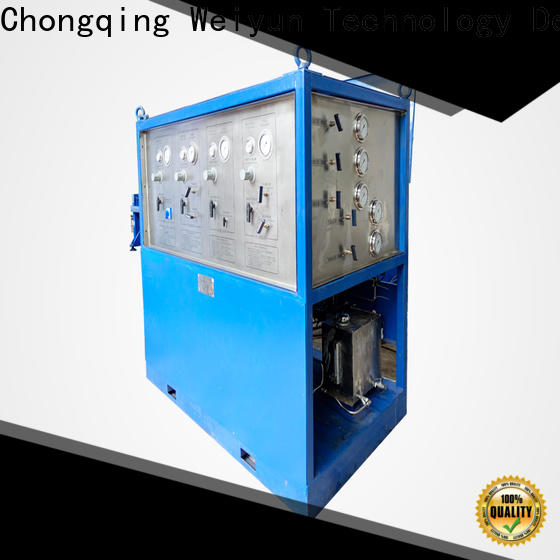 Wingoil hydrostatic testing equipment widely used For Oil Industry