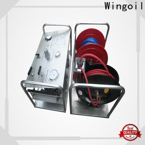 Wingoil High-quality rigid test pump 1450 widely used For Gas Industry