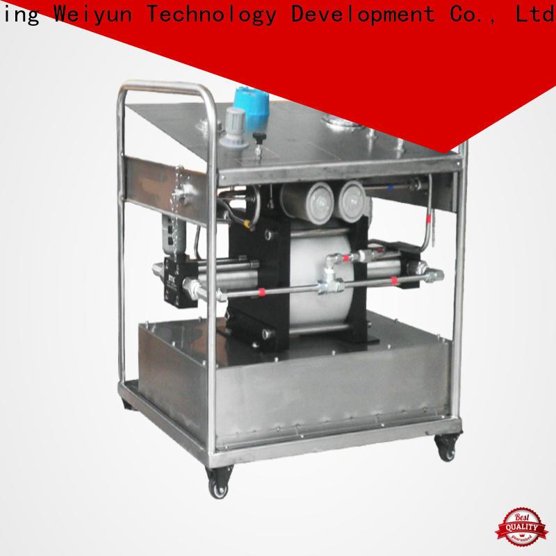 Wingoil manual water pressure test pump factory for onshore