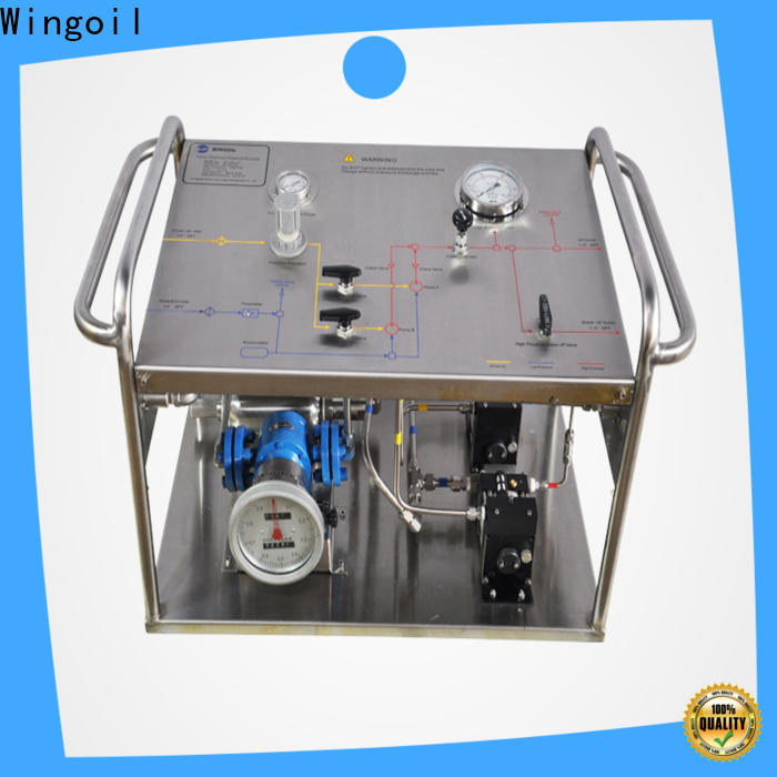 Wingoil hydrostatic test unit Suppliers for offshore