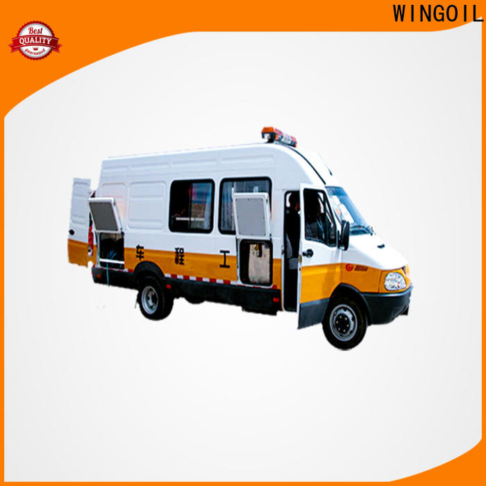 Wingoil High-quality semi truck tire air pressure monitor company For Gas Industry