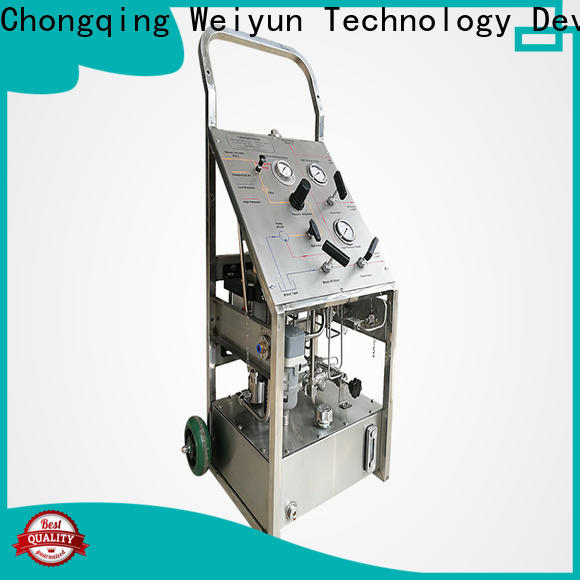 Wingoil High-quality portable hydrostatic test pump company For Oil Industry