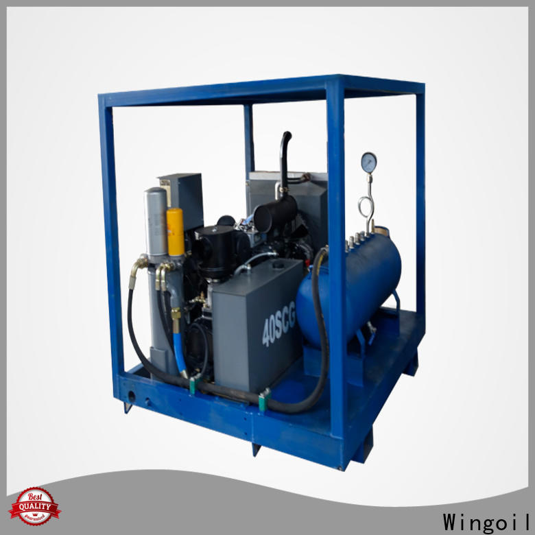 Wingoil High-quality used hydrostatic test equipment For Gas Industry