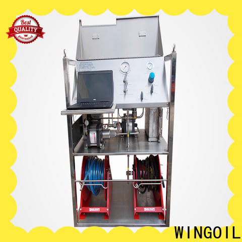 Hydro water pressure test pump infinitely For Gas Industry