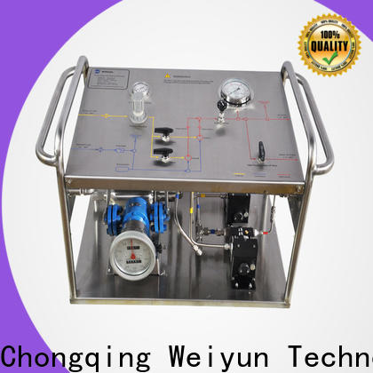 Wingoil hydrostatic pressure test bucket pump widely used For Oil Industry