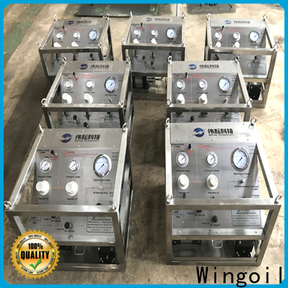 Wingoil chemical meter for business for offshore