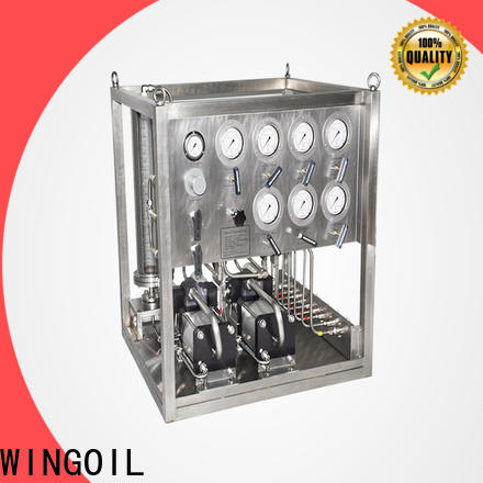 Wingoil chemical controller company For Gas Industry