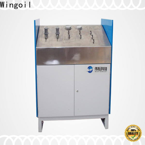 Wingoil Best hydraulic hose testing equipment With unrivaled expertise for onshore