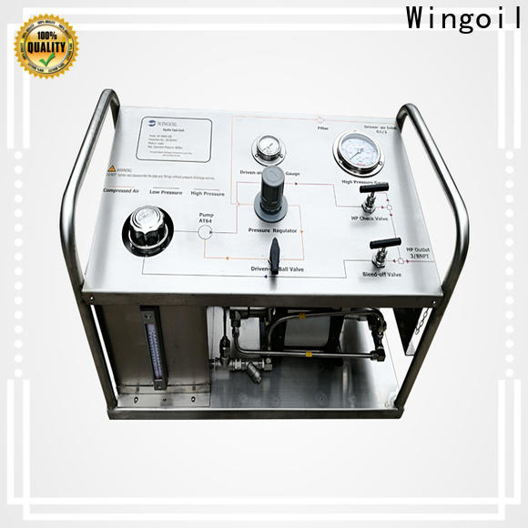 Wingoil hydrotest pump manual for business for onshore