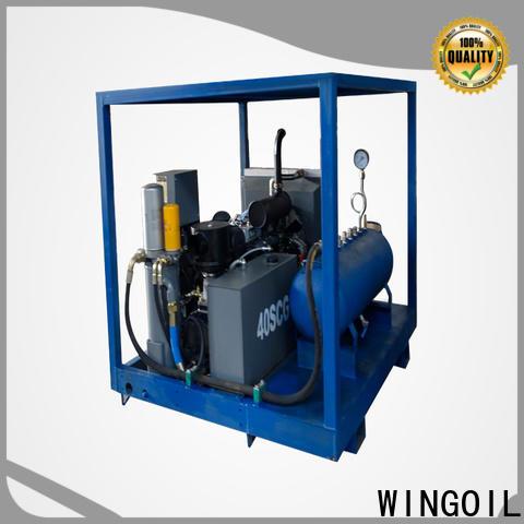 Wingoil air tightness testing equipment company for onshore