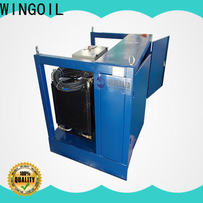 Wingoil digital test equipment With Flow Meter For Oil Industry