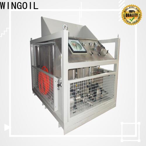 Wingoil hydro pressure test procedure Supply for offshore