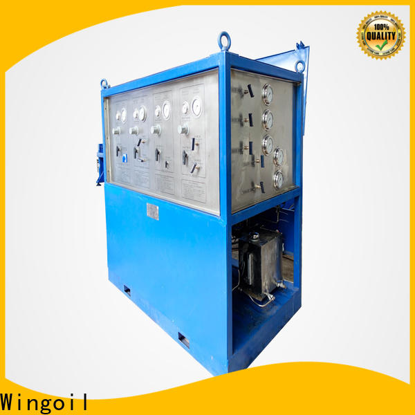 Wingoil Custom gas pressure testing equipment Suppliers for onshore