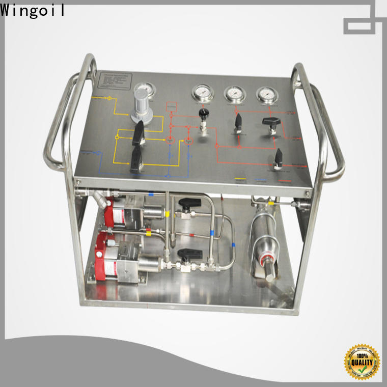 Custom rothenberger hydrostatic test pump infinitely For Oil Industry