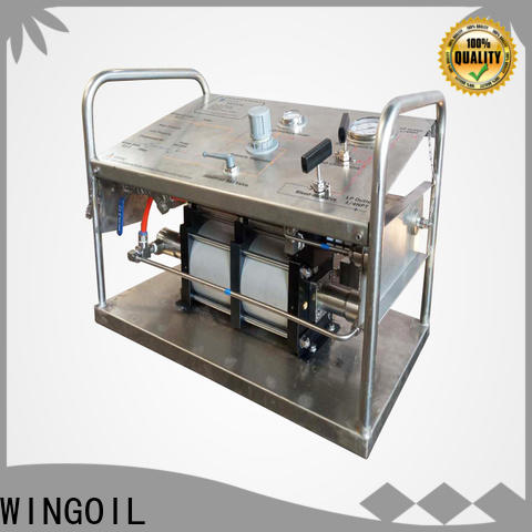 Wingoil New hydrostatic pressure testing machine manufacturers company for offshore