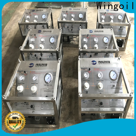 Wingoil Safety fertilizer injection pumps With unrivaled expertise For Gas Industry