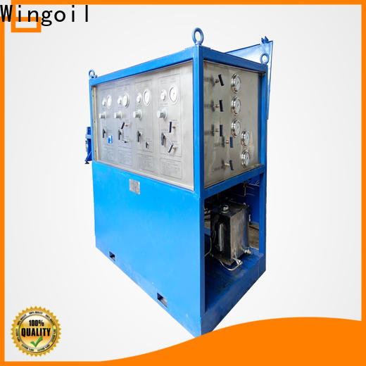 Wingoil Best hydro testing of pipes procedure Suppliers For Oil Industry