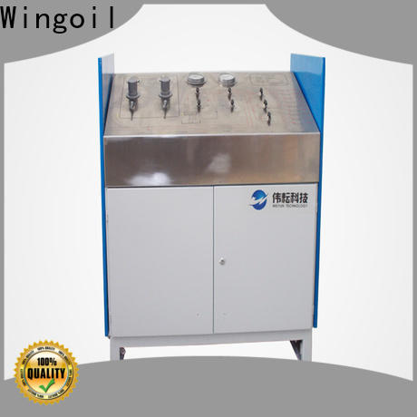 Wingoil high pressure testing services factory For Gas Industry