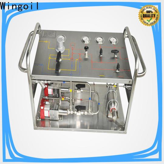 Wingoil underfloor heating pressure test pump in high-pressure For Oil Industry
