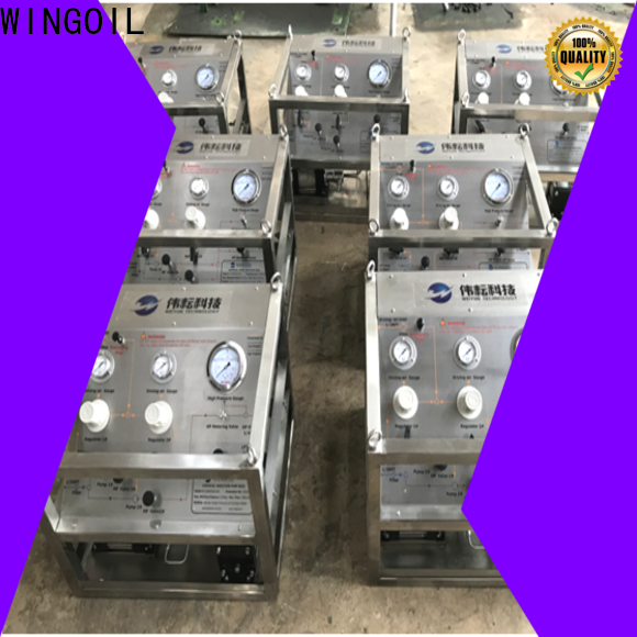 Wingoil Custom chemical pump system manufacturers for onshore