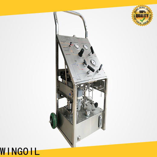 Custom manual hydro test pump manufacturers For Gas Industry