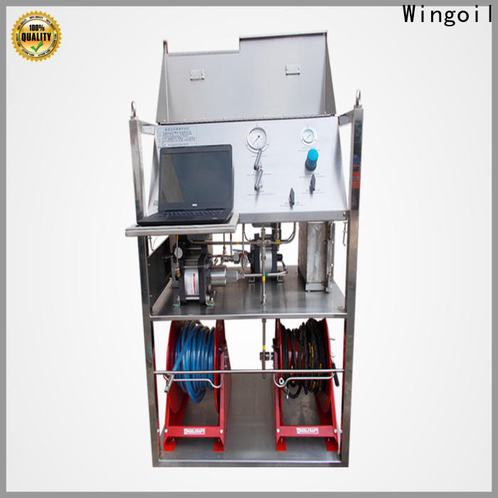 Custom cylinder hydrostatic testing Suppliers for onshore