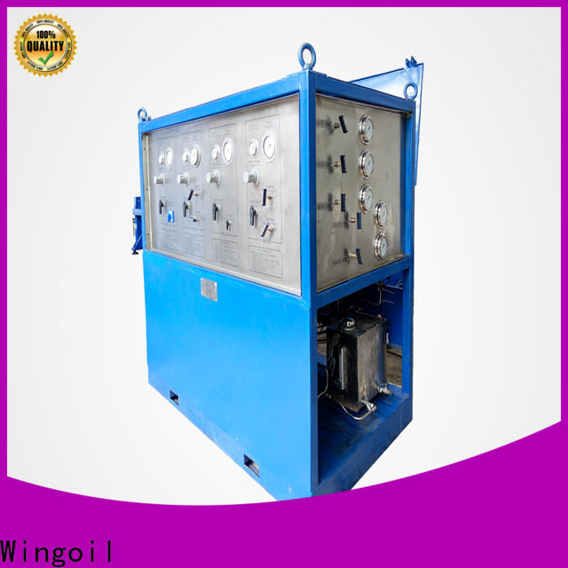 Wingoil Latest water testing equipment company for offshore