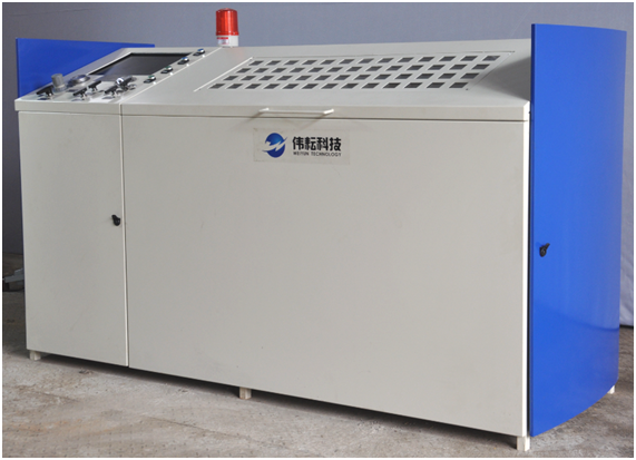 Wingoil High Pressure Hydraulic Testing Cabinet PLC Control Data Recording