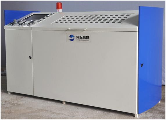 Wingoil High Pressure Hydraulic Burst Testing Cabinet PLC Control Data Recording